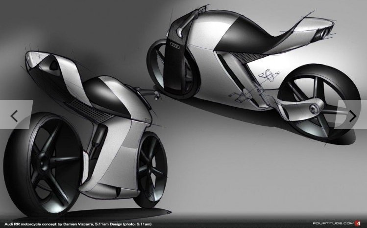 Audi RR общий вид